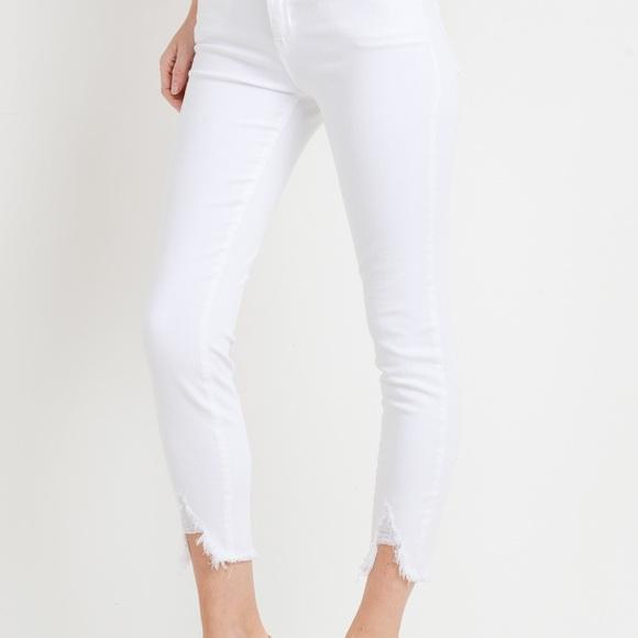 Just Black Pants - Just Black Denim White Jeans